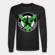 Long-sleeves crewneck Vegan et solidaires