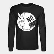 Long sleeves No to animal testing