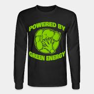 Long-sleeves crewneck Powered by green energy