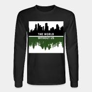 Long-sleeves crewneck The world without us
