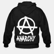 Zip hooded sweatshirt Anarchy
