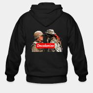 Zip hooded sweatshirt Decolonize Mohawk