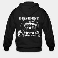 Zip hooded sweatshirt Dissident
