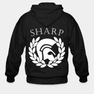 Zip hooded sweatshirt Sharp