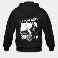 Zip hooded sweatshirt SS-Kaliert - Make war not love