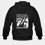 Zip hooded sweatshirt Phobia - Scientific fraud