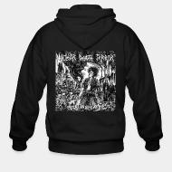 Zip hoodie Nuclear Death Terror -total annihilation