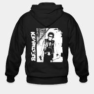 Zip hooded sweatshirt Besthoven - Ready to the fucking death
