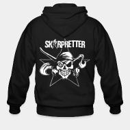 Zip hooded sweatshirt Skarpretter