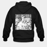 Zip hooded sweatshirt Subhumans - evolution