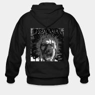 Zip hoodie A Global Threat- until we die