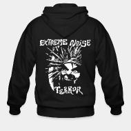 Zip hooded sweatshirt Extreme Noise Terror