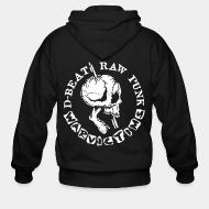 Zip hooded sweatshirt Warvictims - D-beat raw punk