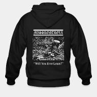 Zip hoodie Masskontroll - Will you ever learn?