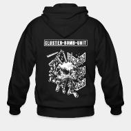 Zip hooded sweatshirt Cluster Bomb Unit
