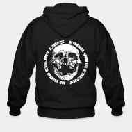 Zip hooded sweatshirt Behind Enemy Lines - Know your enemy