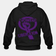 Zip hooded sweatshirt Women's liberation