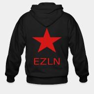 Zip hooded sweatshirt EZLN