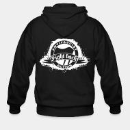 Zip hoodie Antifascist action - Fight back!