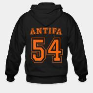 Zip hooded sweatshirt Antifa 54