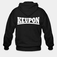 Zip hooded sweatshirt Keupon