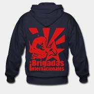 Zip hoodie Brigadas internationales