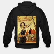 Zip hooded sweatshirt Les milicies us necessiten!