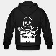Zip hooded sweatshirt Anti-Monsanto