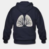 Zip hoodie Forests are the lungs of earth