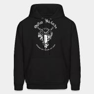 Hooded sweatshirt Outlaw Bastards - Tijuana motorcharged crust