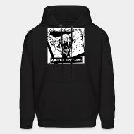 Hooded sweatshirt Angelic Upstarts - Out of control