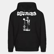 Hooded sweatshirt A//Political