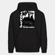 Hooded sweatshirt Distress - Progress/Regress