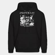Hooded sweatshirt Appalachian Terror Unit - We will continue to break the law and destroy property until we win