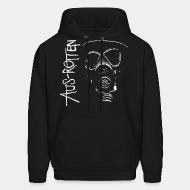 Hooded sweatshirt Aus-Rotten