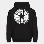 Hoodie Antifascist allstars - freedom fighters