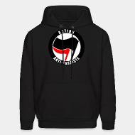 Hooded sweatshirt Action anti-fasciste