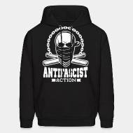 Hooded sweatshirt Antifascist action