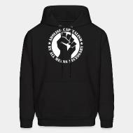 Hoodie Abolish capitalism by all means necessary