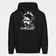Hooded sweatshirt Better to die on your feet than live on your knees (Emiliano Zapata)