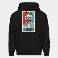 Hooded sweatshirt Revolution (Emiliano Zapata)