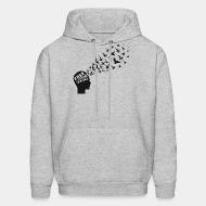 Hooded sweatshirt Free your mind