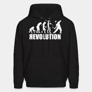 Hooded sweatshirt Revolution evolution