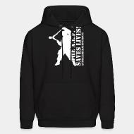 Hooded sweatshirt The A.I.F. saves lives! Animal Libeation Front