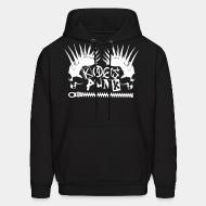 Hooded sweatshirt Kaos punk