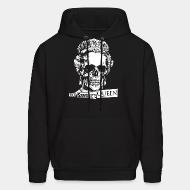 Hooded sweatshirt God save the Queen