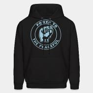 Hooded sweatshirt Power to the peaceful