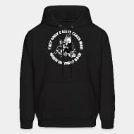 Hooded sweatshirt They only call it class war when we fight back