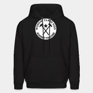 Hooded sweatshirt Workin' class kids against fascism