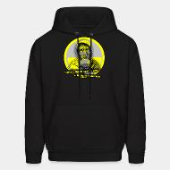 Hoodie Harness the wind, the sun and the waves - we don't need this nuclear waste!